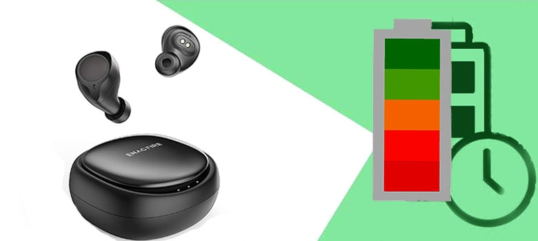 ENACFIRE Wireless True Earbuds High Battery Performance