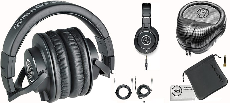 ATH-M40x Professional Monitor Headphone Design and Features