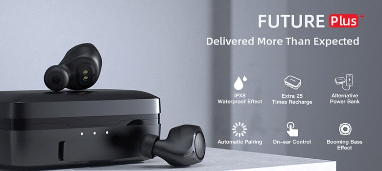 ENACFIRE Future Plus Bluetooth 5.0 Wireless True Earbuds - Design And Performance
